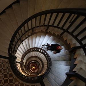 Ligne de conduite. Escalier
