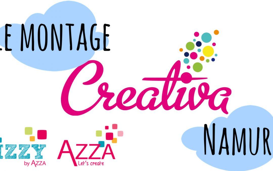Montage vidéo Creativa Namur